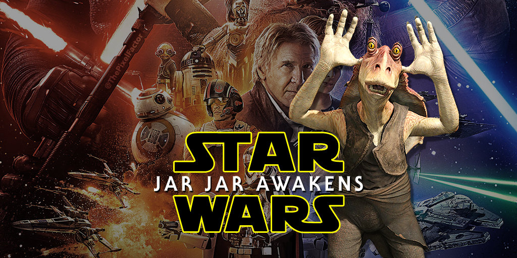REVISED FORCE AWAKENS POSTER ALLAYS FEARS