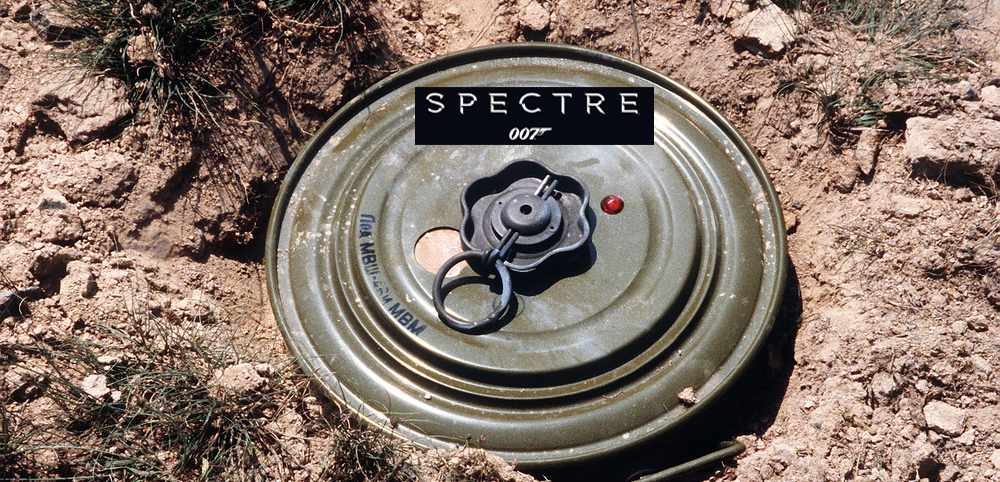 NEW SPECTRE LANDMINES TO BE RELEASED