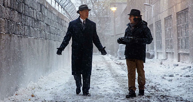 OUTRAGE AT LACK OF TINTIN IN BRIDGE OF SPIES