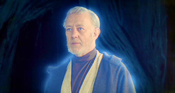ALEC GUINNESS WILL NOT BE IN THE FORCE AWAKENS