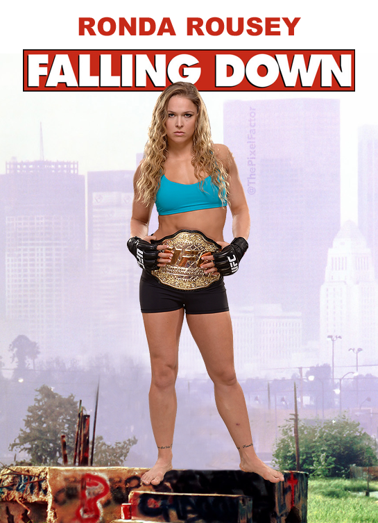 RONDA ROUSEY TO STAR IN ALL FEMALE REMAKE OF FALLING DOWN