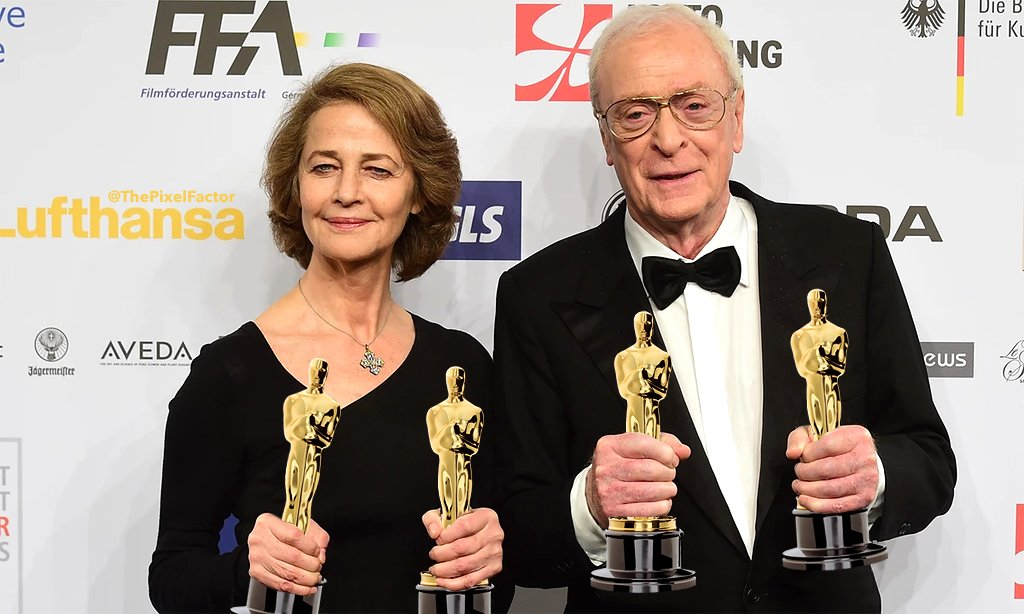CHARLOTTE RAMPLING AND MICHAEL CAINE STEAL OSCARS FROM BLACK PEOPLE
