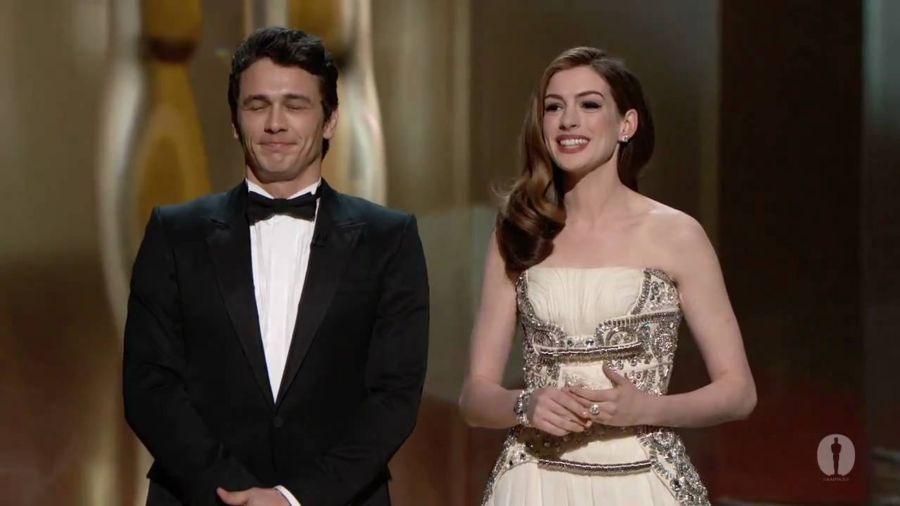 JAMES FRANCO AND ANNE HATHAWAY ARRESTED