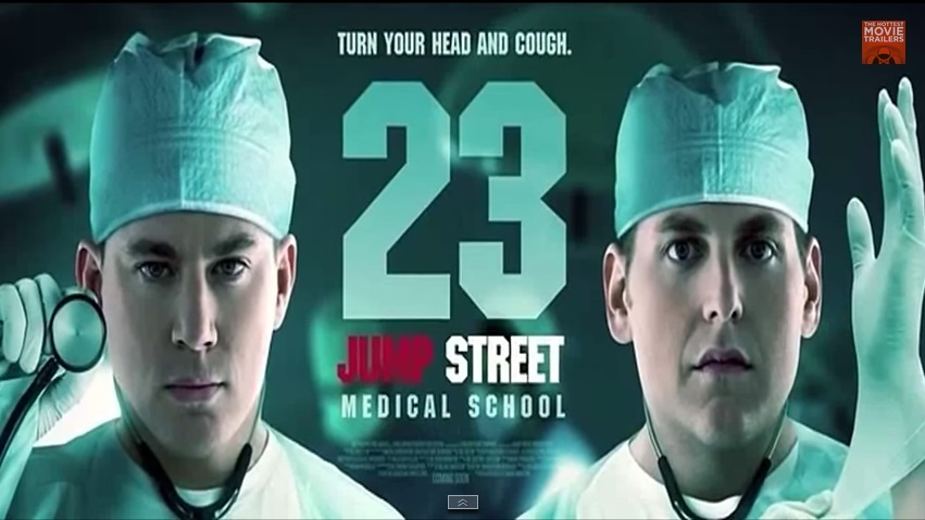 23 JUMP STREET: MEN IN BLACK 'THE RESULT OF TOO MUCH TEQUILA'