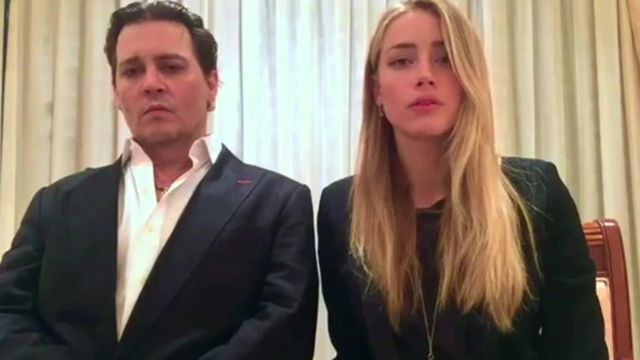 JOHNNY DEPP AND AMBER HEARD TELL AUSTRALIA TO GO F*CK ITSELF, USING ONLY THEIR EYES
