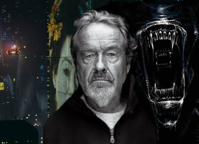 PROMETHEUS SEQUEL 'JUST A JOKE' SAYS RIDLEY SCOTT.