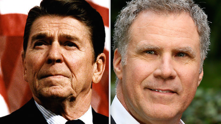 WILL FERRELL DROPS OUT OF REAGAN BECAUSE OF THE DANGER IT MIGHT HAVE BEEN FUNNY