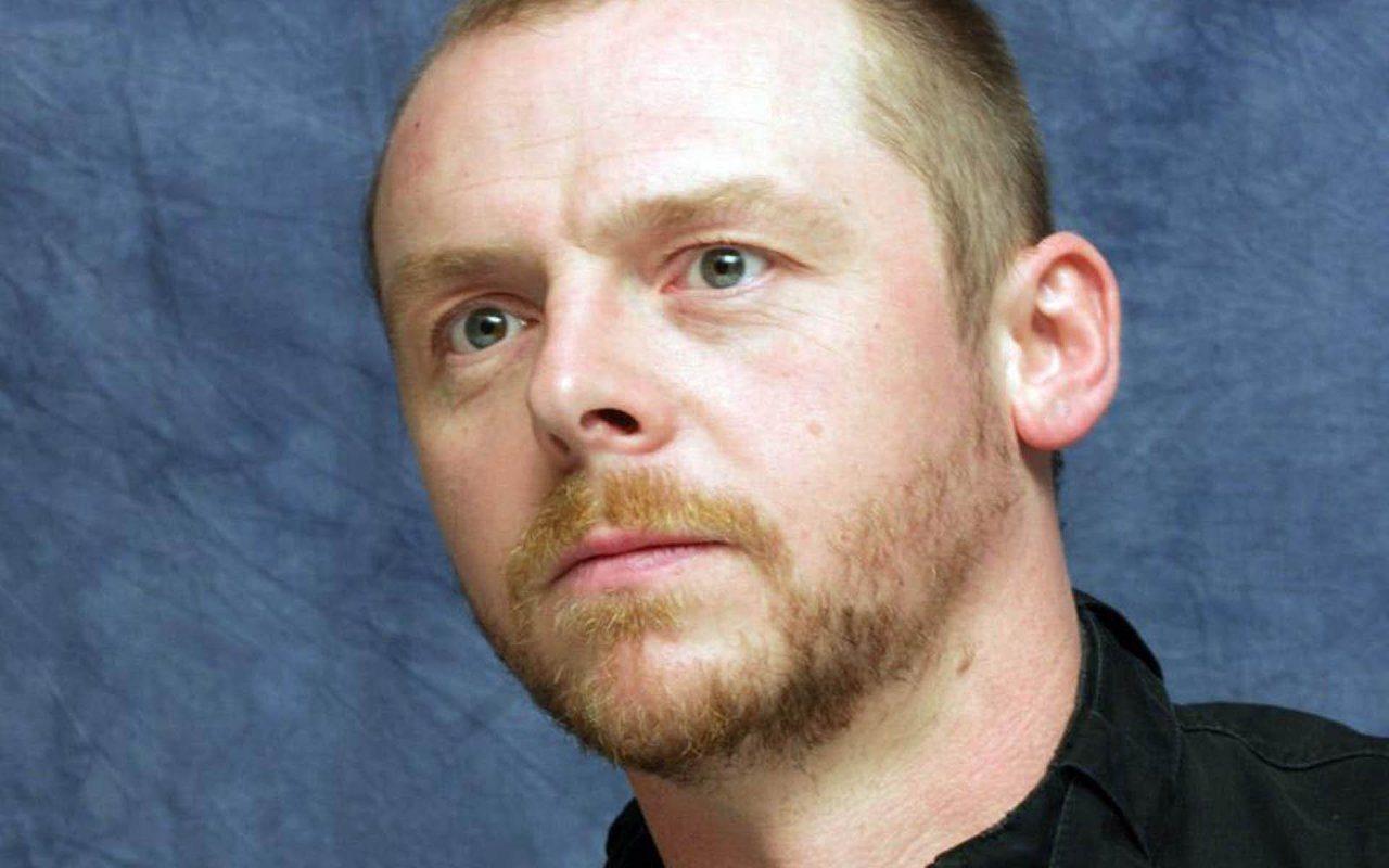 SIMON PEGG: 'THE JOLLY BASTARDS ONCE MORE AT LARGE'