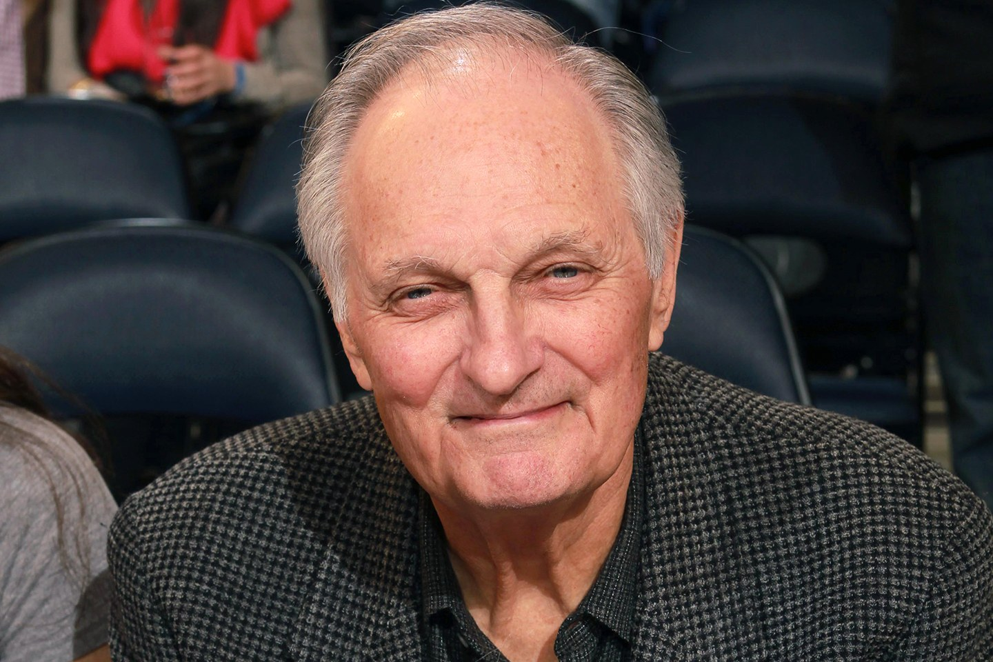 ALAN ALDA RULES HIMSELF OUT OF JAMES BOND