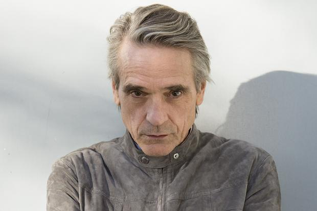 JEREMY IRONS FINISHES SUCKING THE BOILED SWEET HE STARTED SUCKING IN 1976