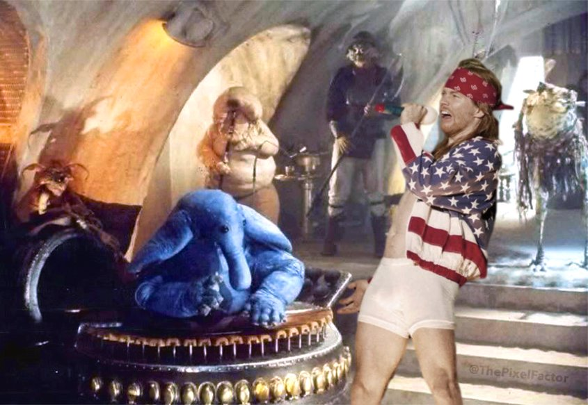 FIRST IMAGE OF AXL ROSE IN STAR WARS MUSICAL: MAX REBO LIVE