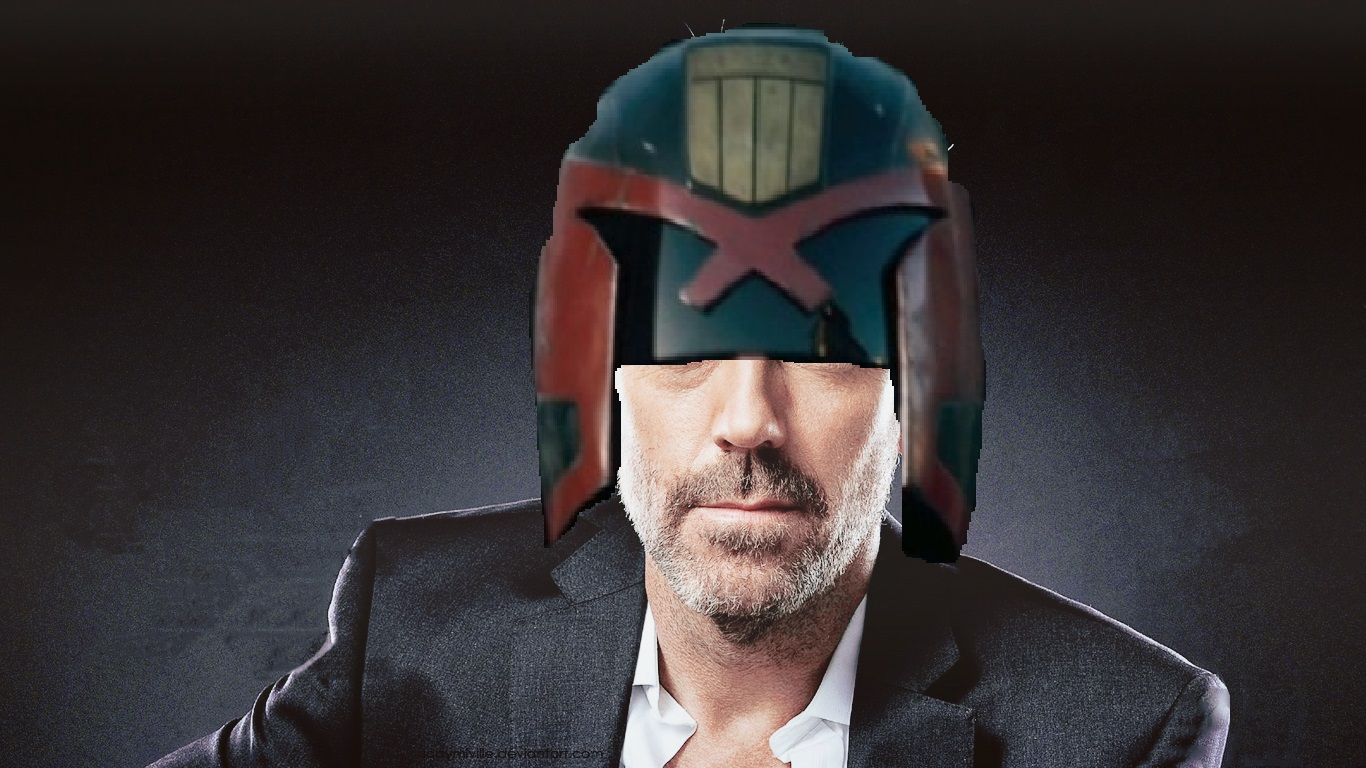 HUGH LAURIE TO PLAY JUDGE DREDD IN NETFLIX SERIES