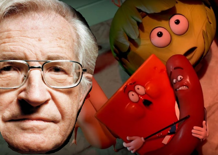 NOAM CHOMSKY EXCITED ABOUT SAUSAGE PARTY