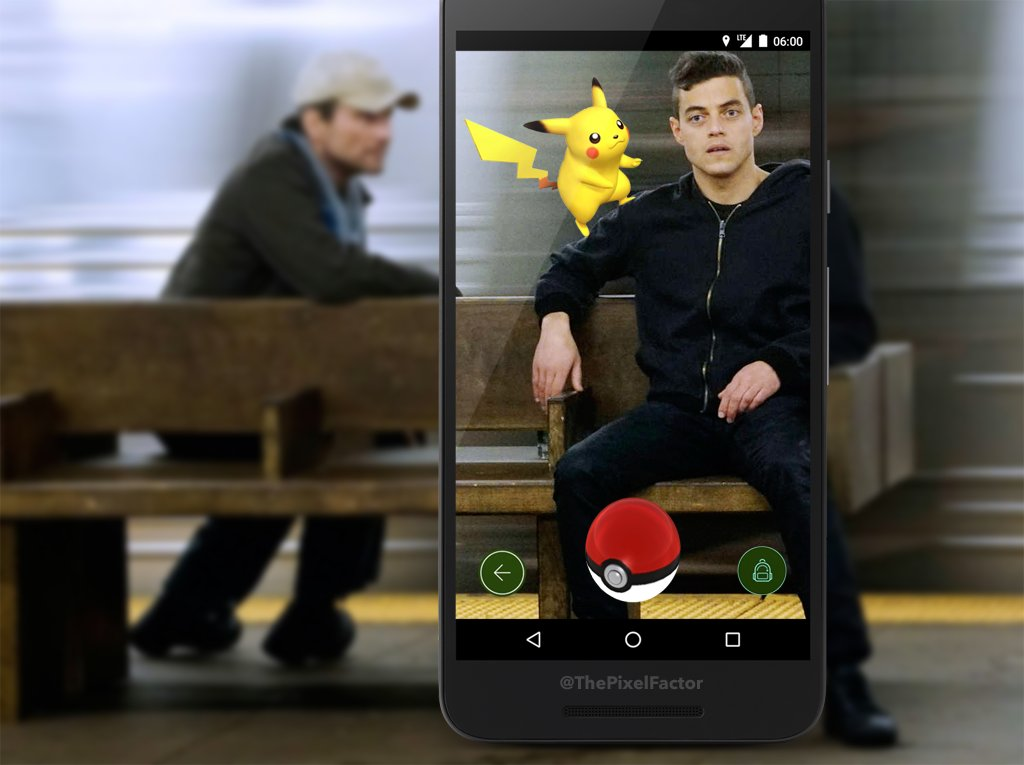 MR ROBOT SEASON 3 TO BE ALL ABOUT POKEMON