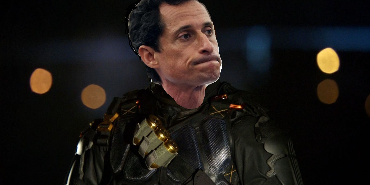 ANTHONY WEINER TO PLAY DEATHSTROKE IN NEW BATMAN