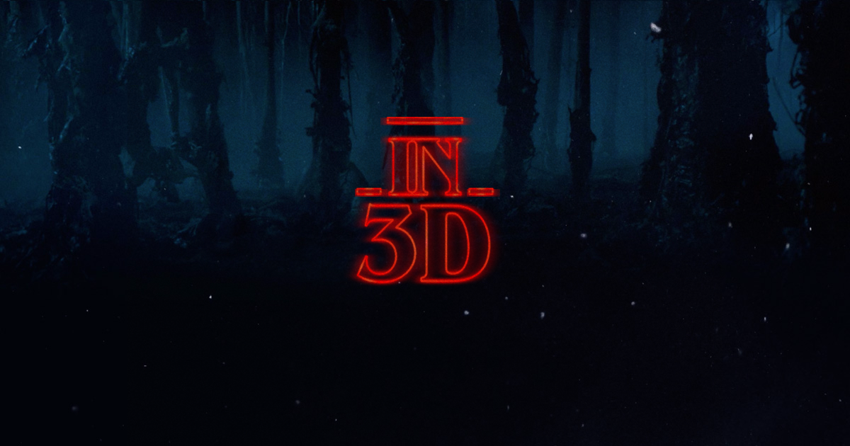 STRANGER THINGS 2 WILL BE IN 3D