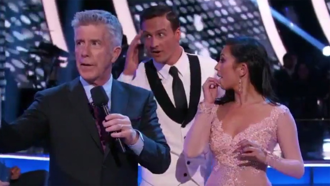 'THEY HAD FLAMETHROWERS': RYAN LOCHTE OPENS UP ABOUT DANCING WITH THE STARS PROTEST
