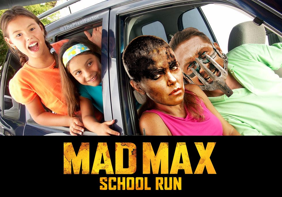 FIRST IMAGE FROM MAD MAX: SCHOOL RUN HIT THE NET