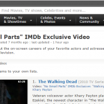ACTORS UNION SLAM IMDB'S 'NO SMALL PARTS' FEATURE