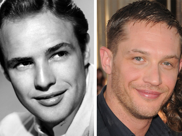 TOM HARDY TO PLAY MARLON BRANDO