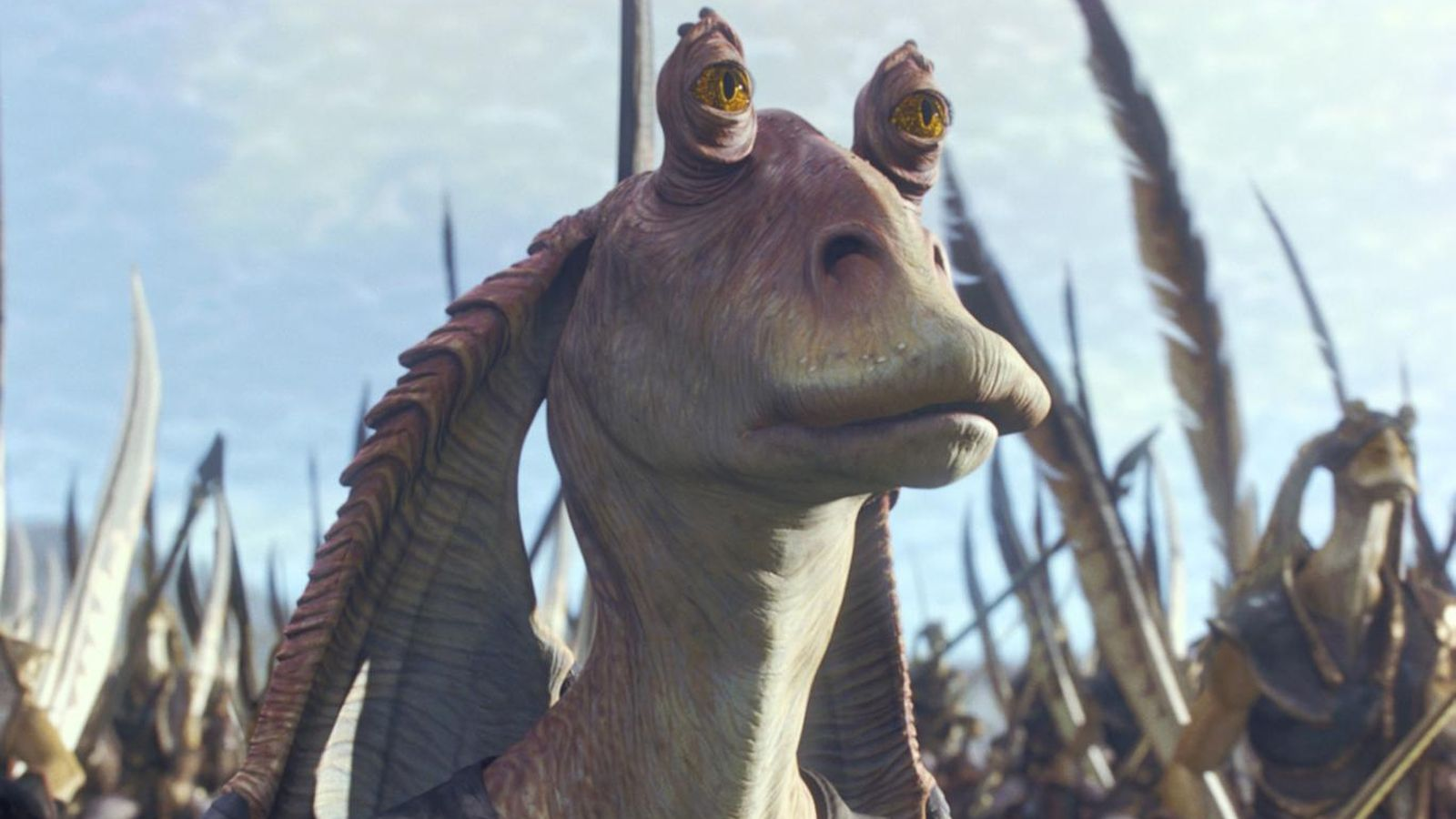 JAR JAR BINKS TO BE DIGITALLY RECONSTRUCTED FOR THE LAST JEDI