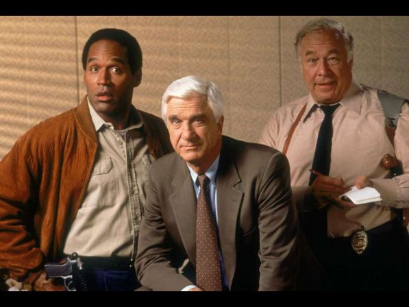 O.J. SIMPSON TO BE ERASED FROM THE NAKED GUN