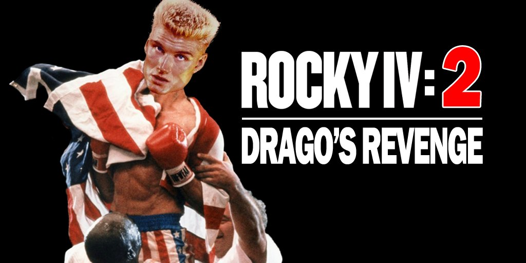 ROCKY IV 2: DRAGO'S REVENGE GETS FIRST POSTER