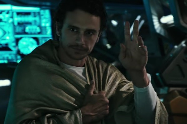JAMES FRANCO IN TALKS FOR ALIEN SEQUEL