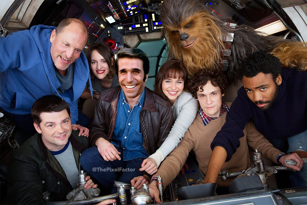 HENRY WINKLER REPLACES ALDEN EHRENREICH AS HAN SOLO