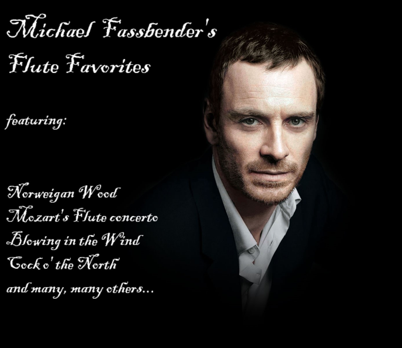 MICHAEL FASSBENDER'S FLUTE ALBUM A MASSIVE HIT IN GERMANY