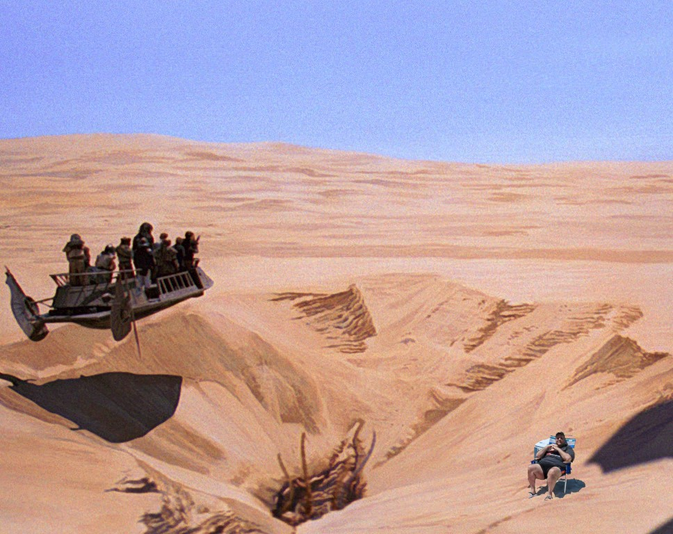 CHRIS CHRISTIE TO BE THROWN INTO THE SARLACC PIT