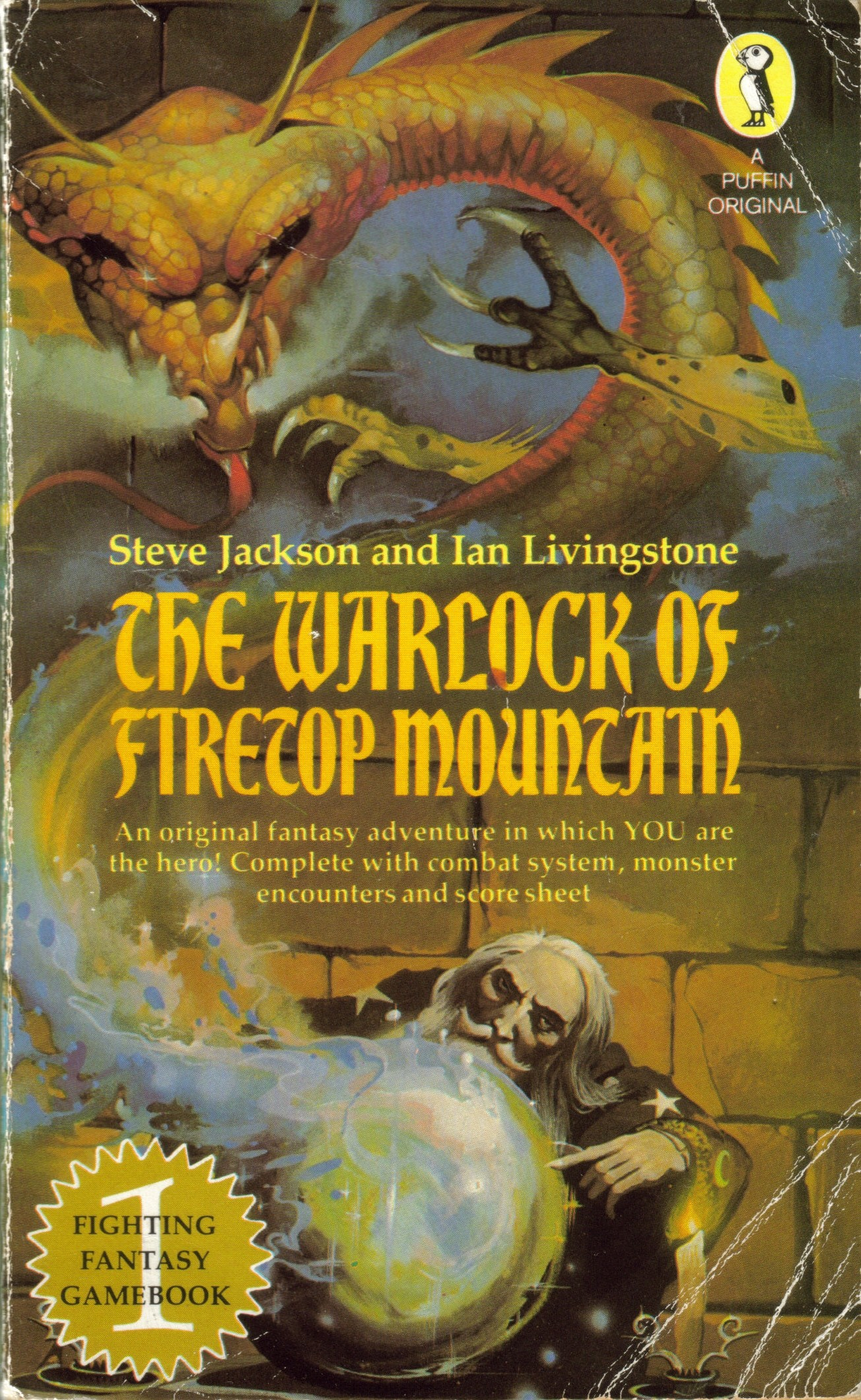 PETER JACKSON TO FILM WARLOCK OF FIRETOP MOUNTAIN