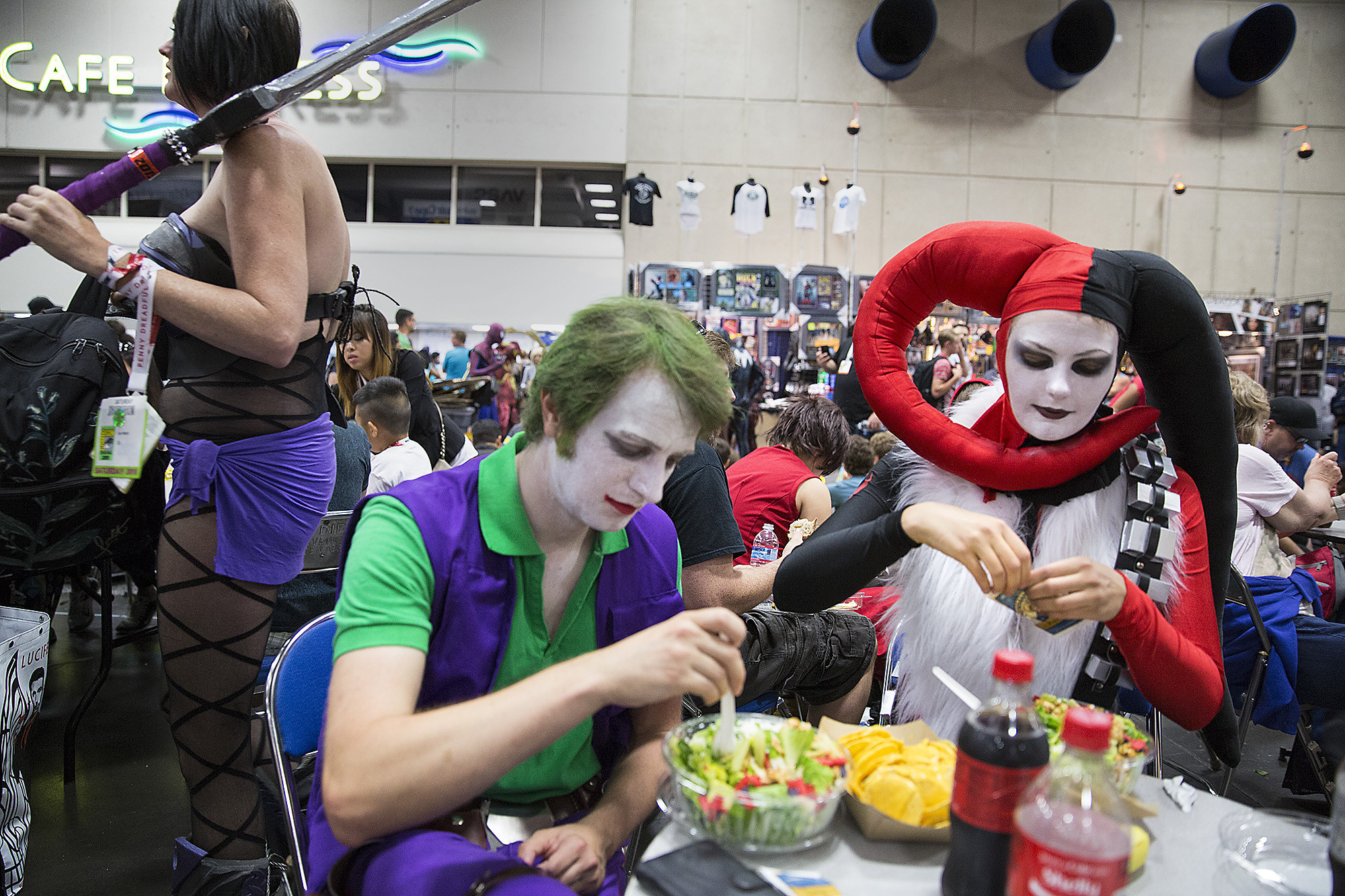 PEOPLE AT COMIC CON GET TO SEE A LOT OF TRAILERS FROM YOUTUBE