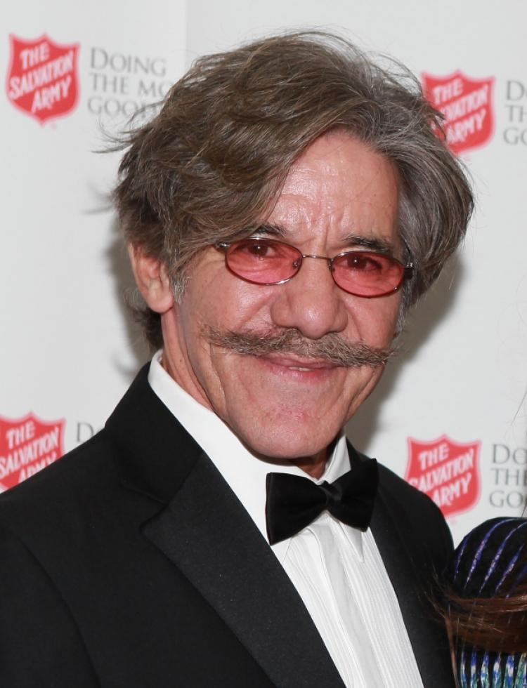 GERALDO RIVERA'S MUSTACHE ACCUSED OF FACIAL HARASSMENT