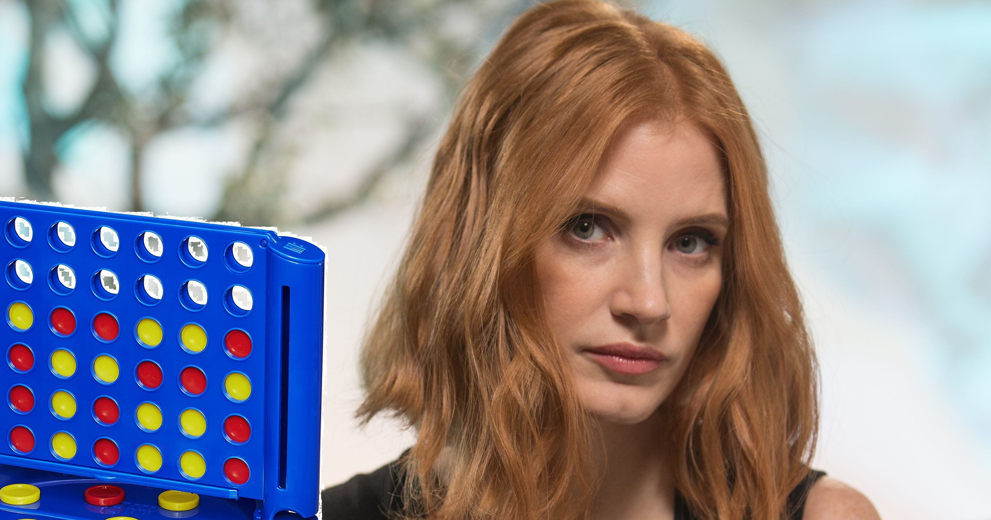 JESSICA CHASTAIN TALKS MOLLY'S GAME 2