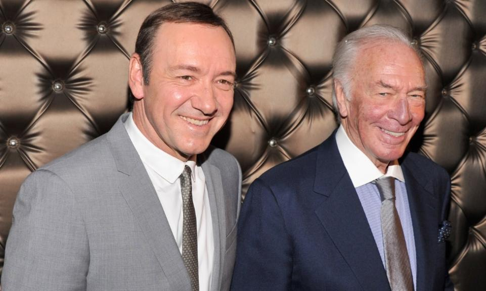 CHRISTOPHER PLUMMER TO PLAY KEVIN SPACEY