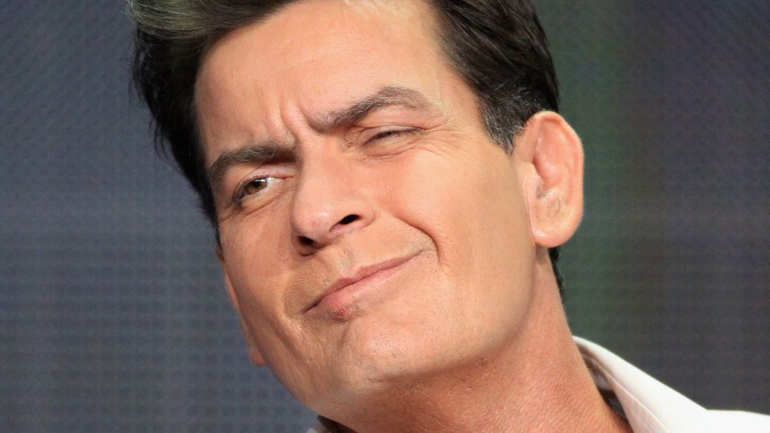 CHARLIE SHEEN DONATES HIS HARD DRIVE TO THE SMITHSONIAN