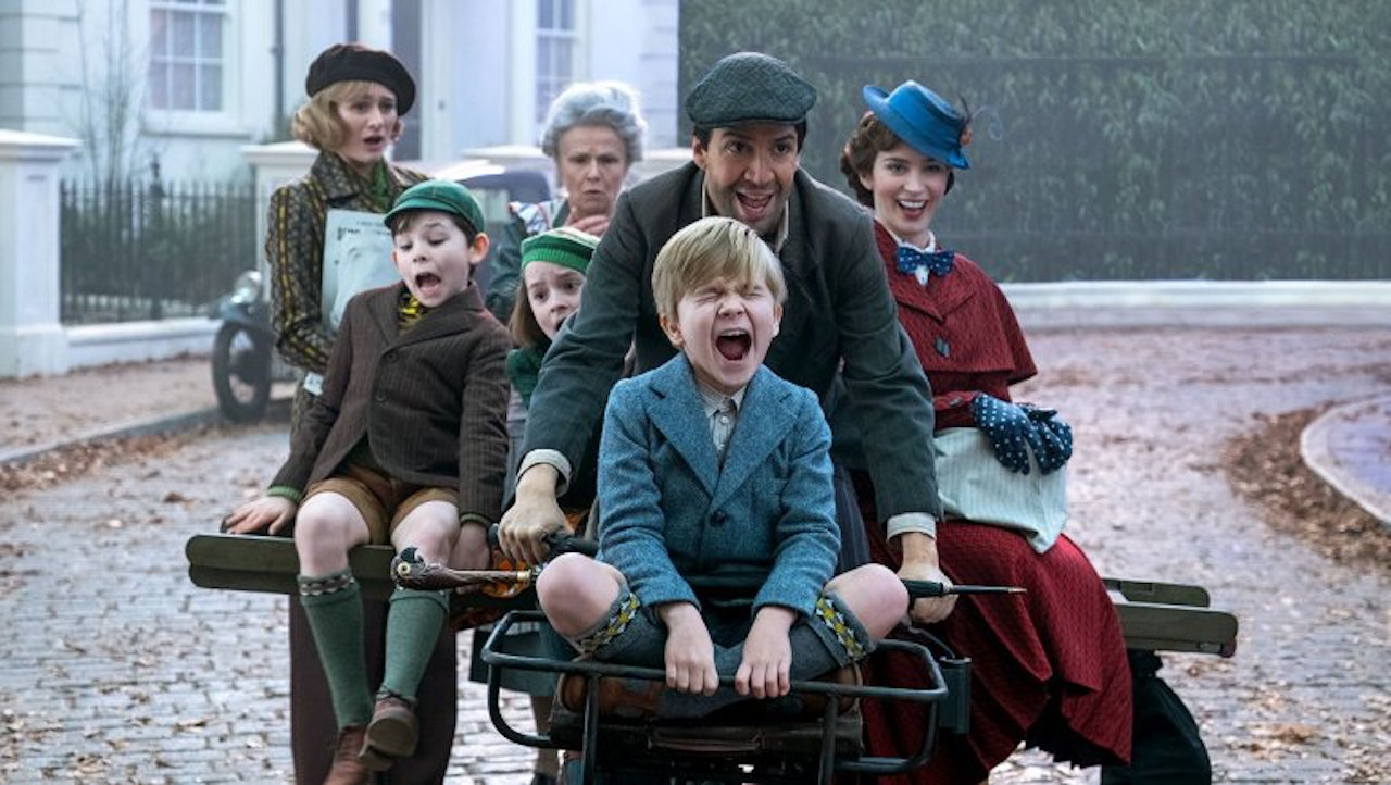 MARY POPPINS RETURNS WILL BE A HARD 'R'