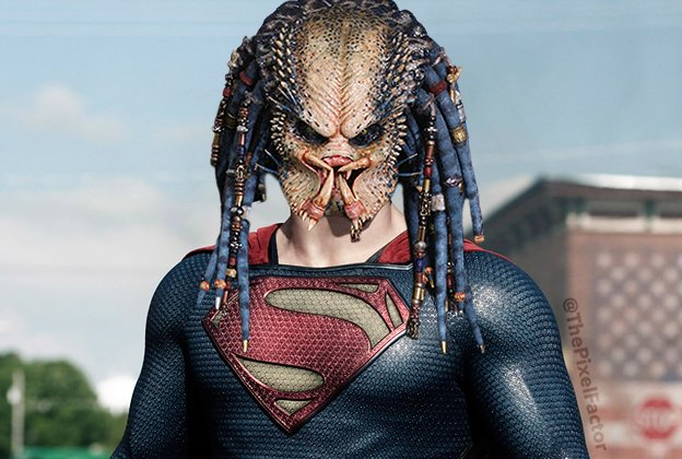 PREDATOR TO REPLACE HENRY CAVILL AS SUPERMAN