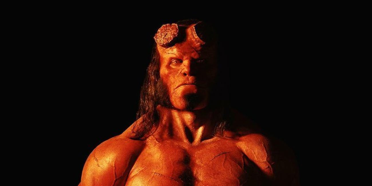CONTROVERSY AS MAN CAST AS HELLBOY