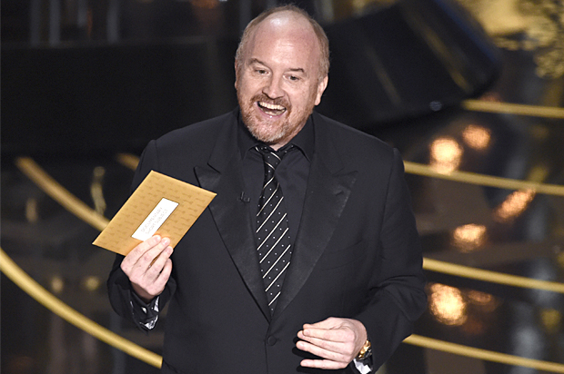 LOUIS CK TO HOST THE OSCARS