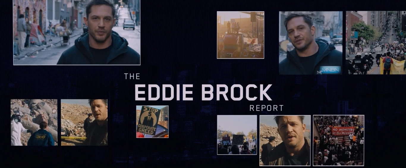 EDDIE BROCK REPORT CANCELLED