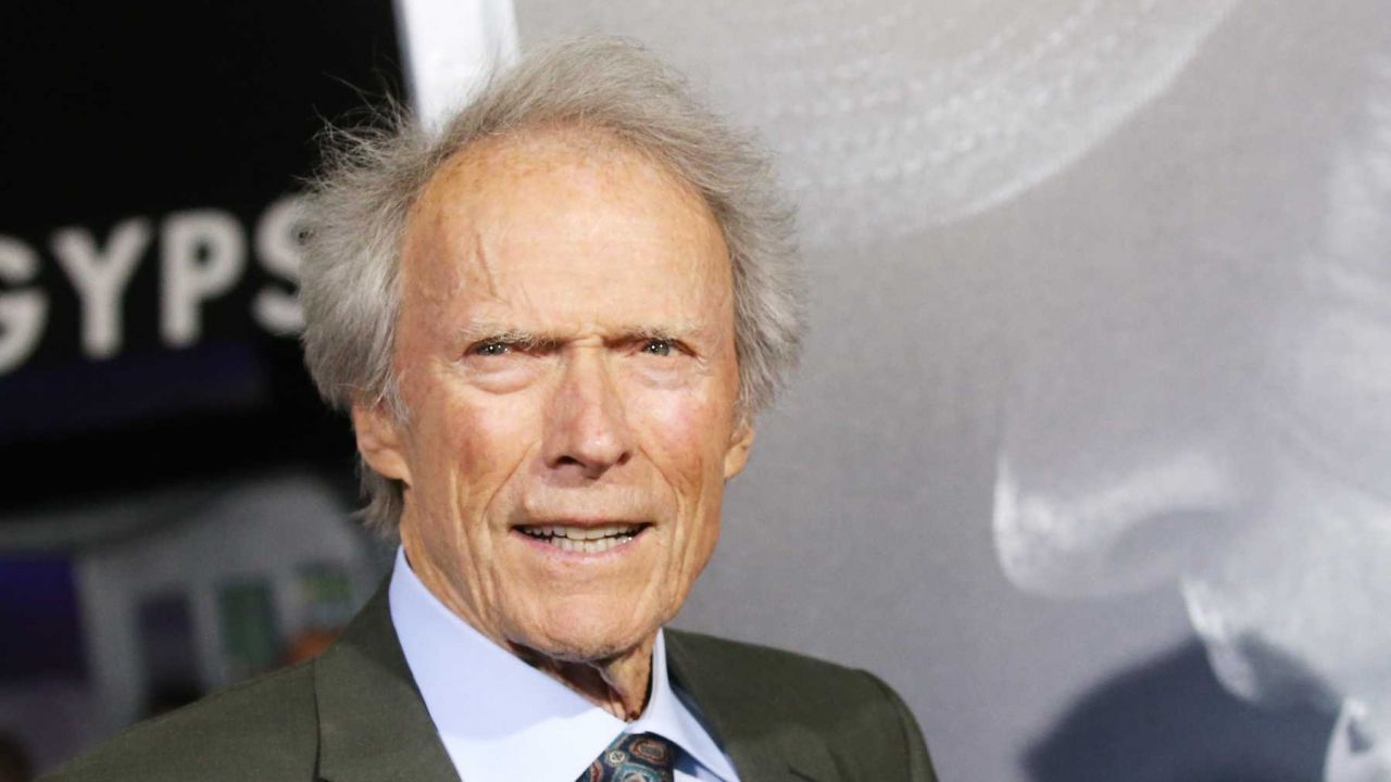 CLINT EASTWOOD MOVES INTO NEW HOUSE