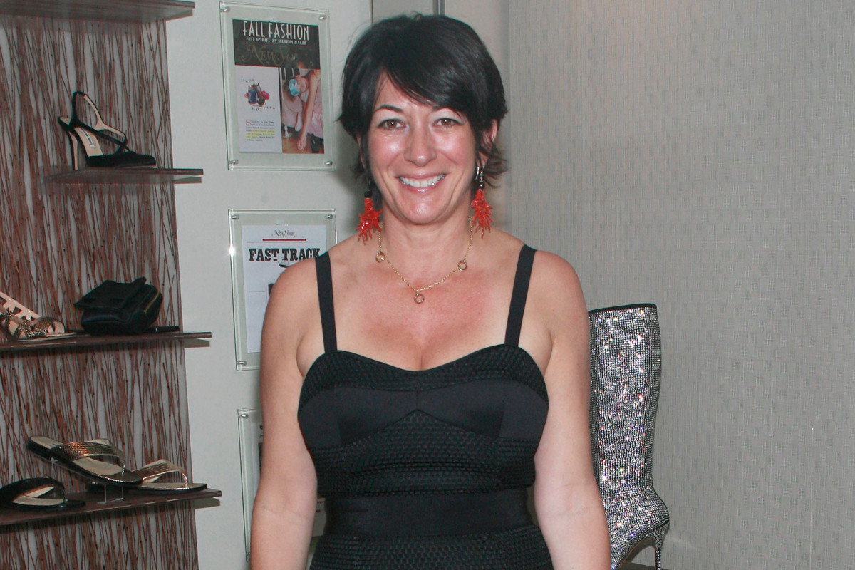 MY FAVOURITE MOVIES:GHISLAINE MAXWELL