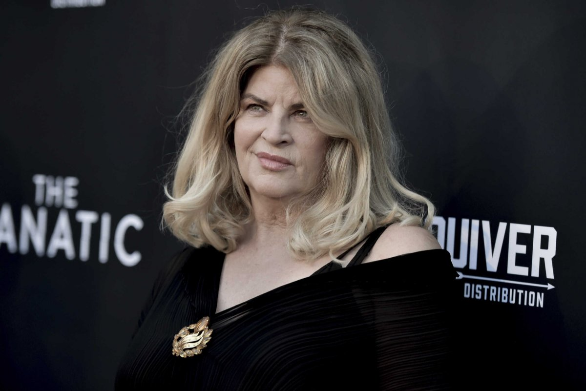 KIRSTIE ALLEY JOINS JAMES WOODS TO REMAKE BIRTH OF A NATION